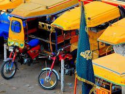 Qingqi Rickshaw - Lahore