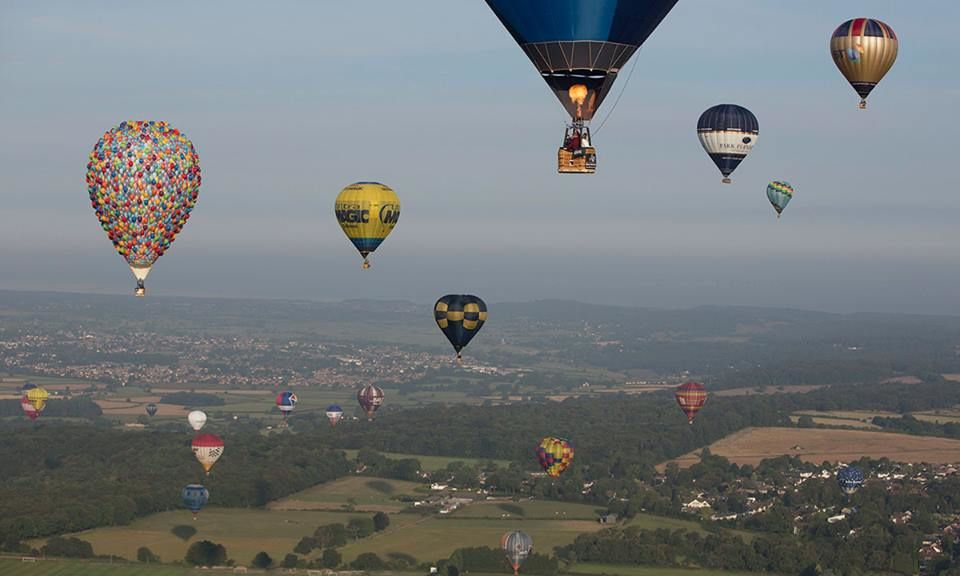 International Balloon Fiesta near Bristol in western England