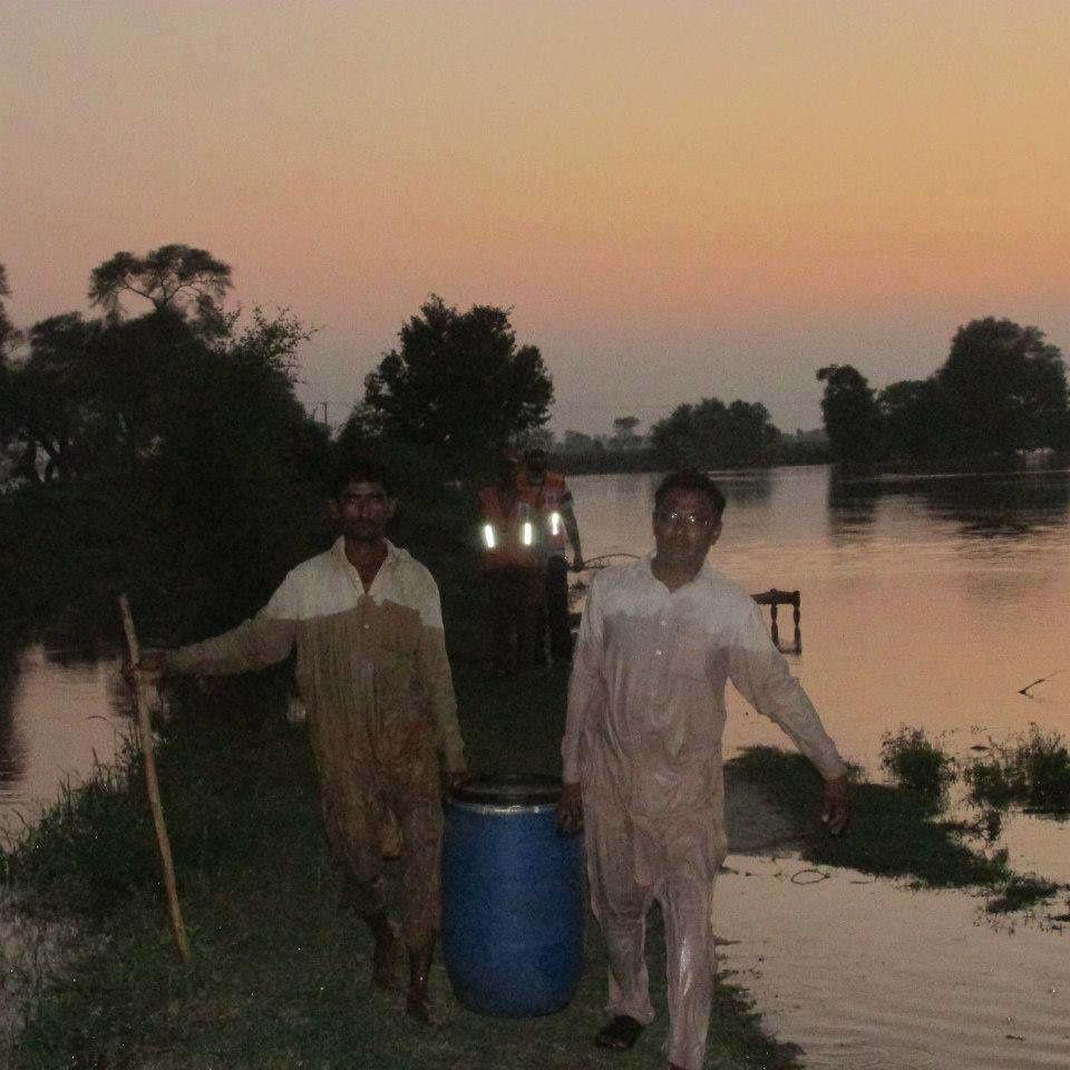 Al-khidmat Foundation's flood relief work in Punjab