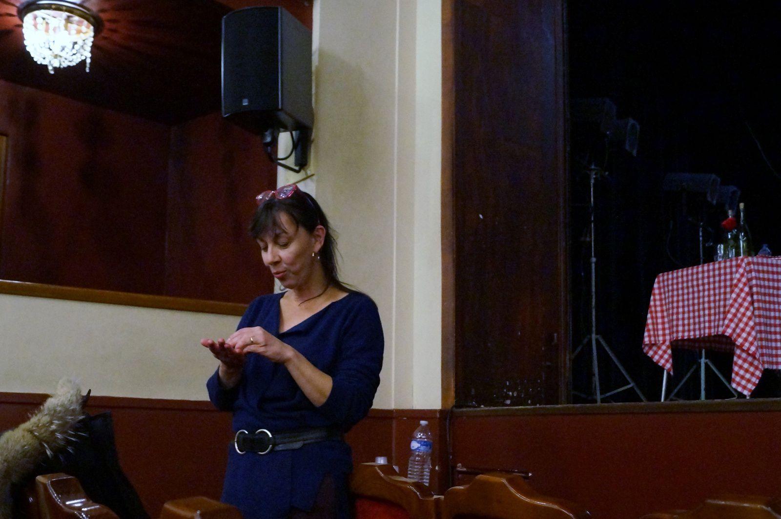Rencontre avec Corinne Benizio (Shirley) au Théâtre de l'Atelier