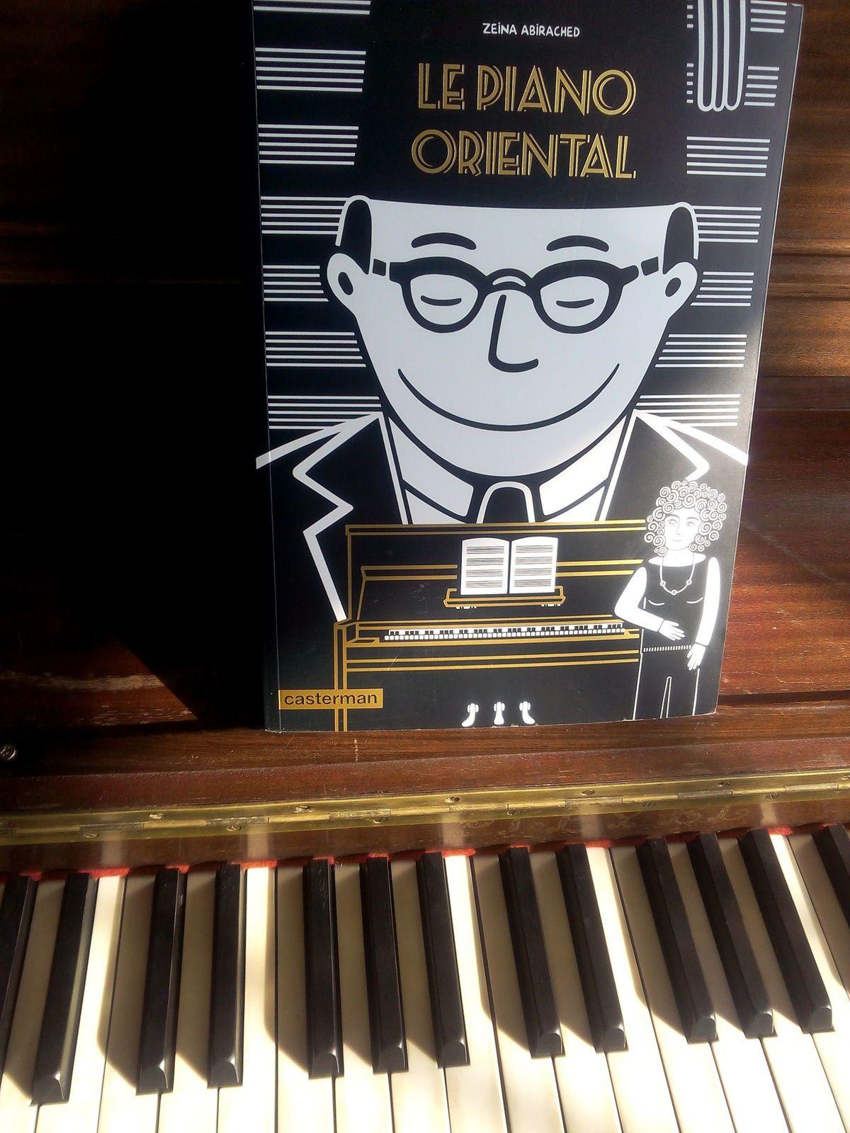 Le piano oriental de Zeina Abirached: un vrai plaisir de lecture