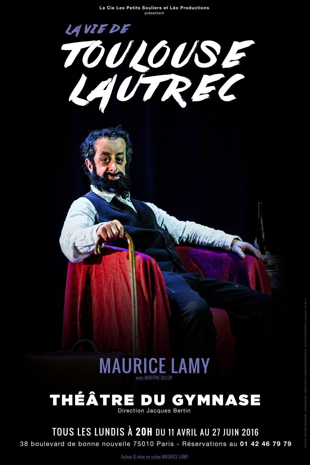 La vie de Toulouse Lautrec au Théâtre du Petit Gymnase