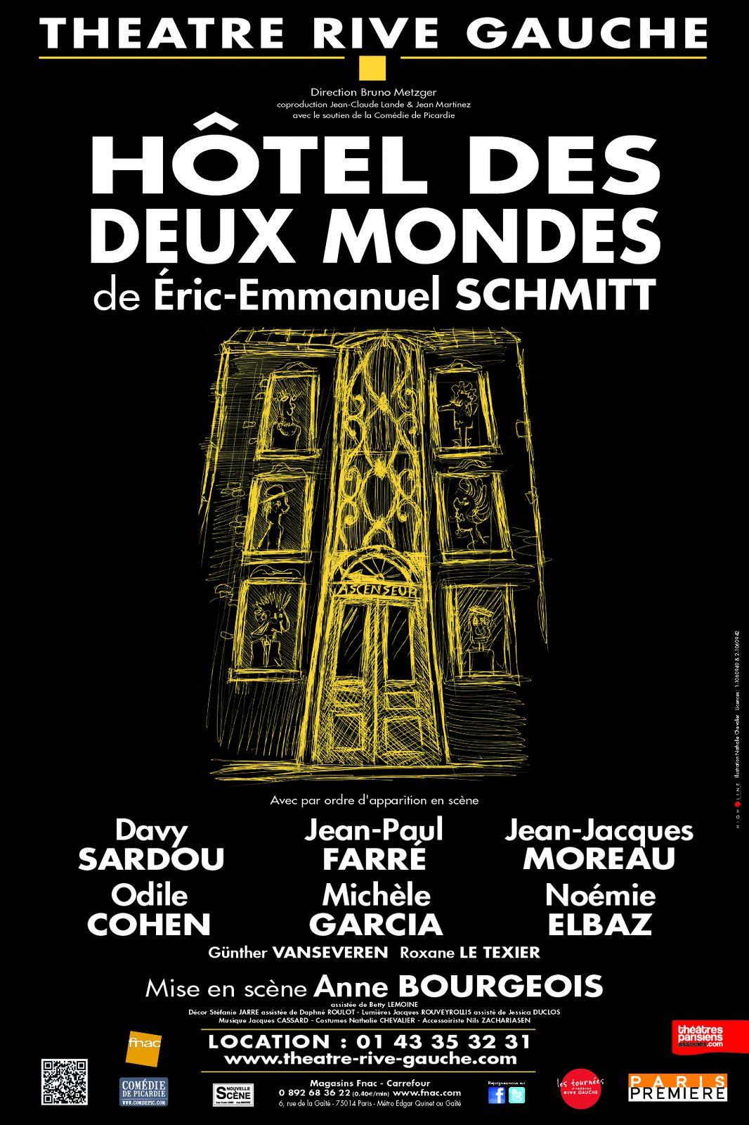 Rencontre avec Davy Sardou, actuellement à l'affiche au Théâtre Rive Gauche pour Hôtel des Deux Mondes