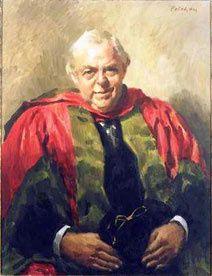 Chester Beatty, peinture par le gendre de Hermann Marx, Colin Colahan. (Musée C Beatty)