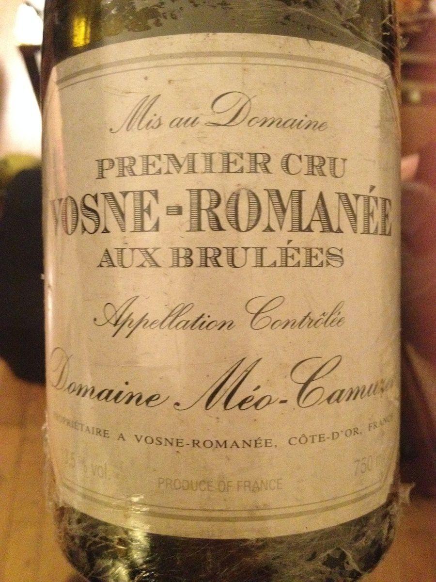 Meo Camuzet - Vosne Romanée Aux Brulées 2002