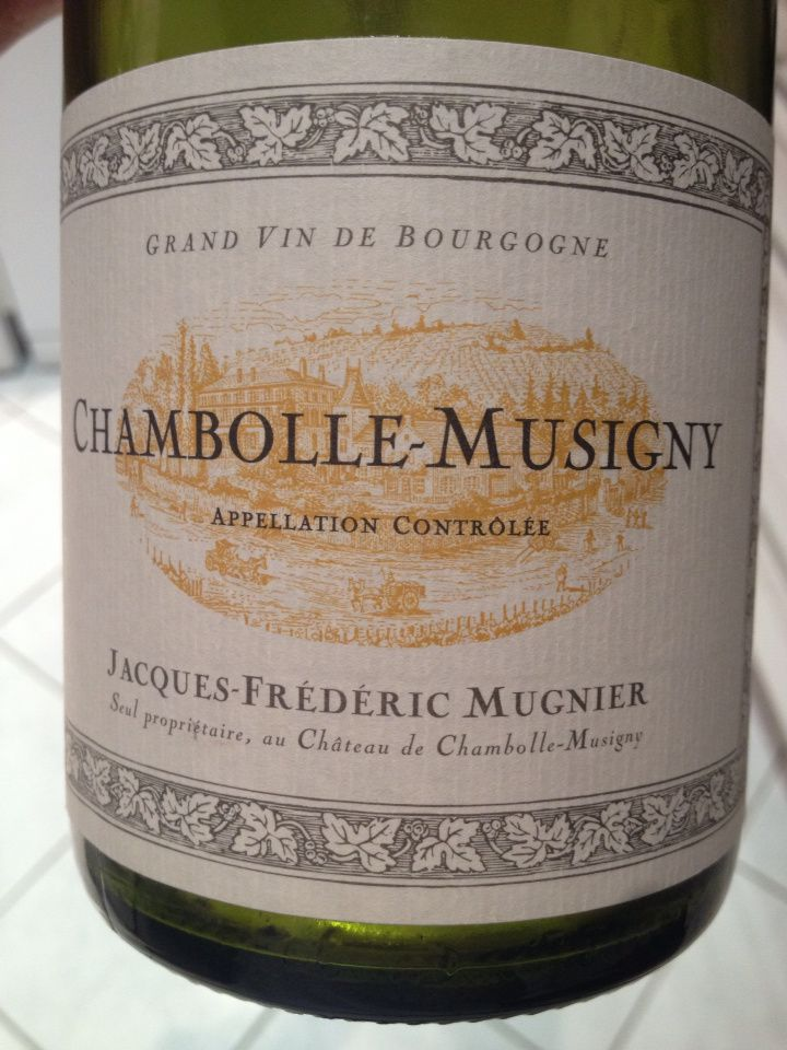 JF Mugnier - Chambolle-Musigny 2009