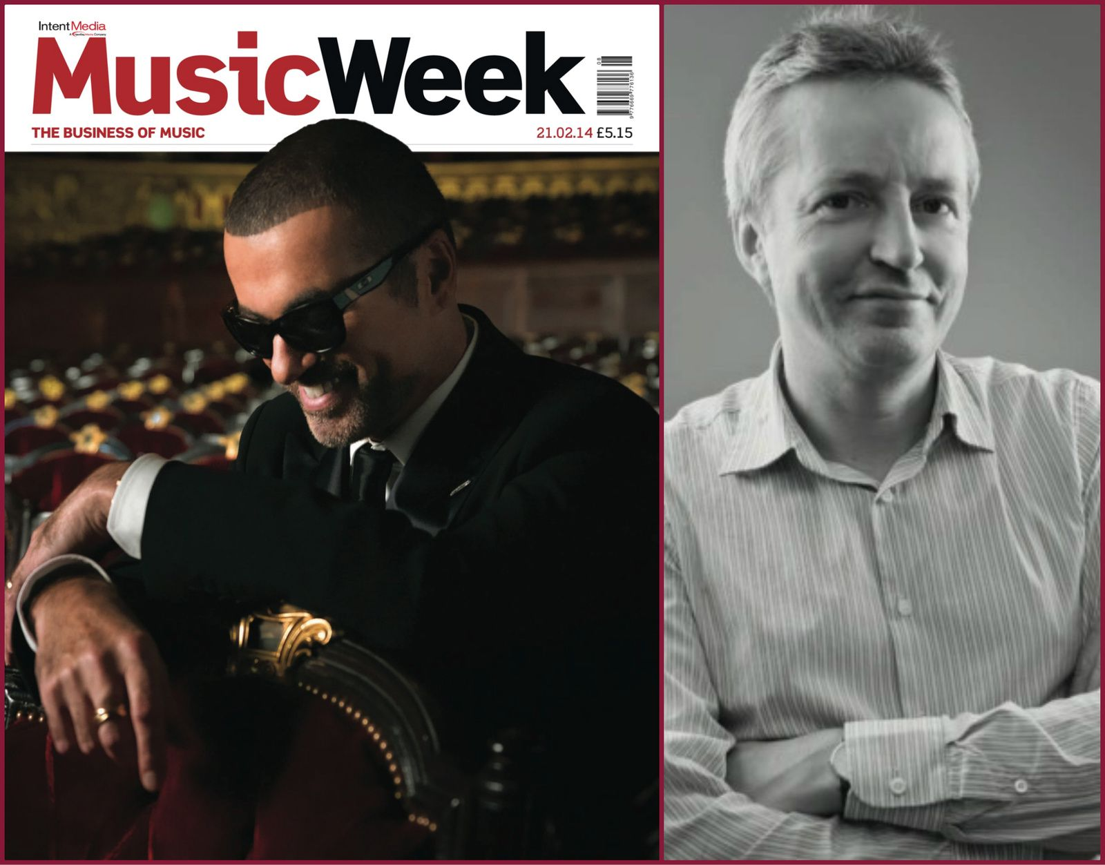 MUSIC WEEK - LE DIRECTEUR GENERAL DE WARNER/CHAPELL PARLE DE GEORGE MICHAEL -