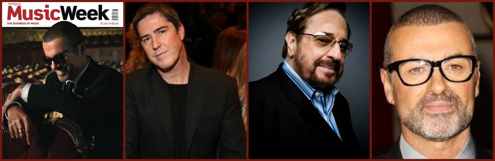 MUSIC WEEK - GEORGE MICHAEL &amp&#x3B; DAVID AUSTIN RENDENT HOMMAGE A PHIL RAMONE