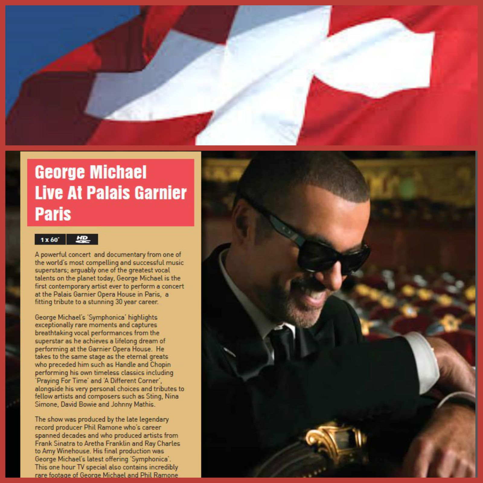 SYMPHONICA LE DOCUMENTAIRE * SUISSE LE 26 AVRIL *
