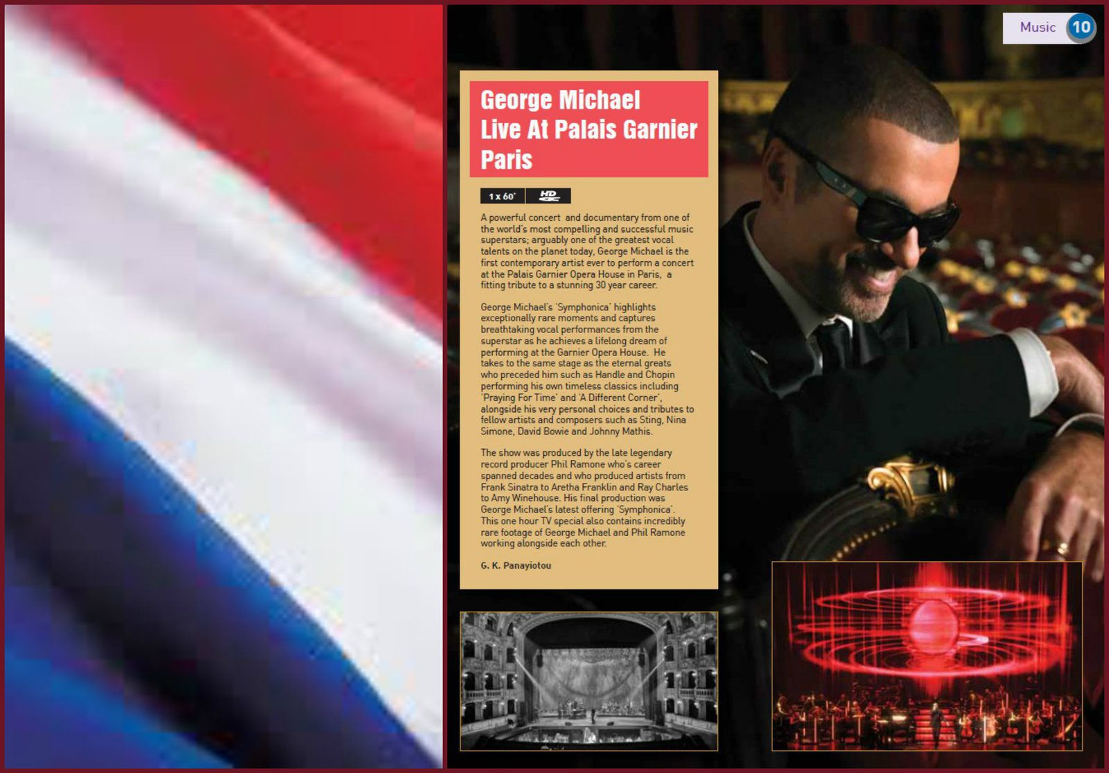 SYMPHONICA LE DOCUMENTAIRE * FRANCE LE 3 MAI SUR PARIS PREMIERE