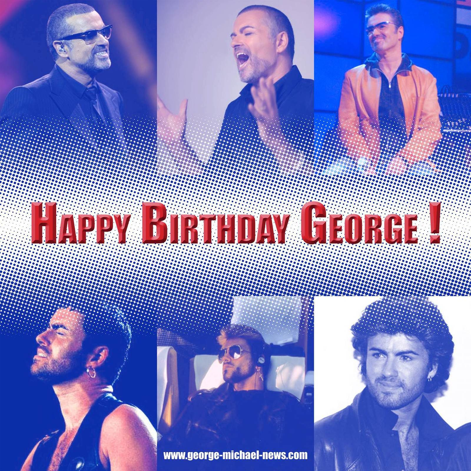 HAPPY BIRTHDAY DEAR GEORGE !