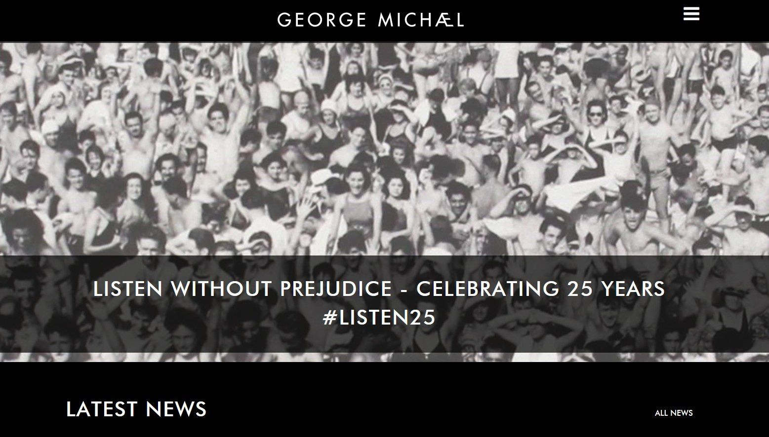 LE SITE OFFICIEL EST TRES *LISTEN WITHOUT PREJUDICE* !