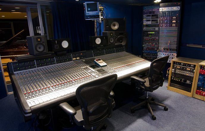 SARM WEST STUDIOS TWO LE FAVORI DE GEORGE A LONDRES