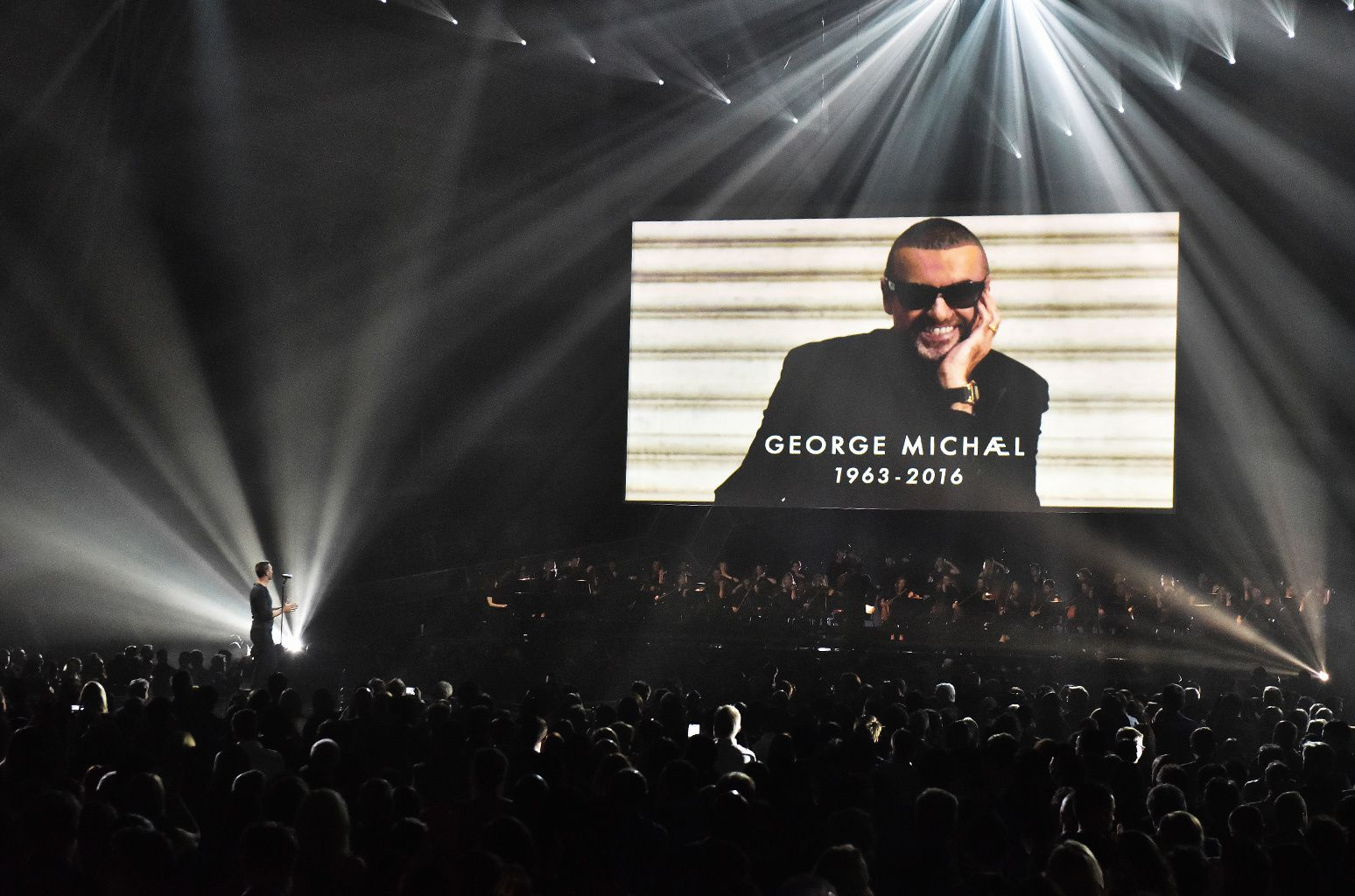 DISCOURS HOMMAGE A GEORGE MICHAEL AUX BRITS AWARDS 2017