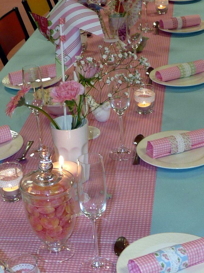 Un anniversaire fleuri avec la collection Mademoiselle de Toga... # la décoration