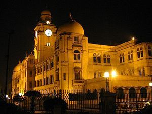 Karachi Municipal Corporation building.