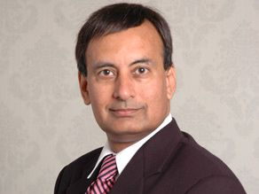 English: Photograph of Hussain Haqqani