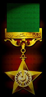 Nishan-e-Haider is the highest military award ...