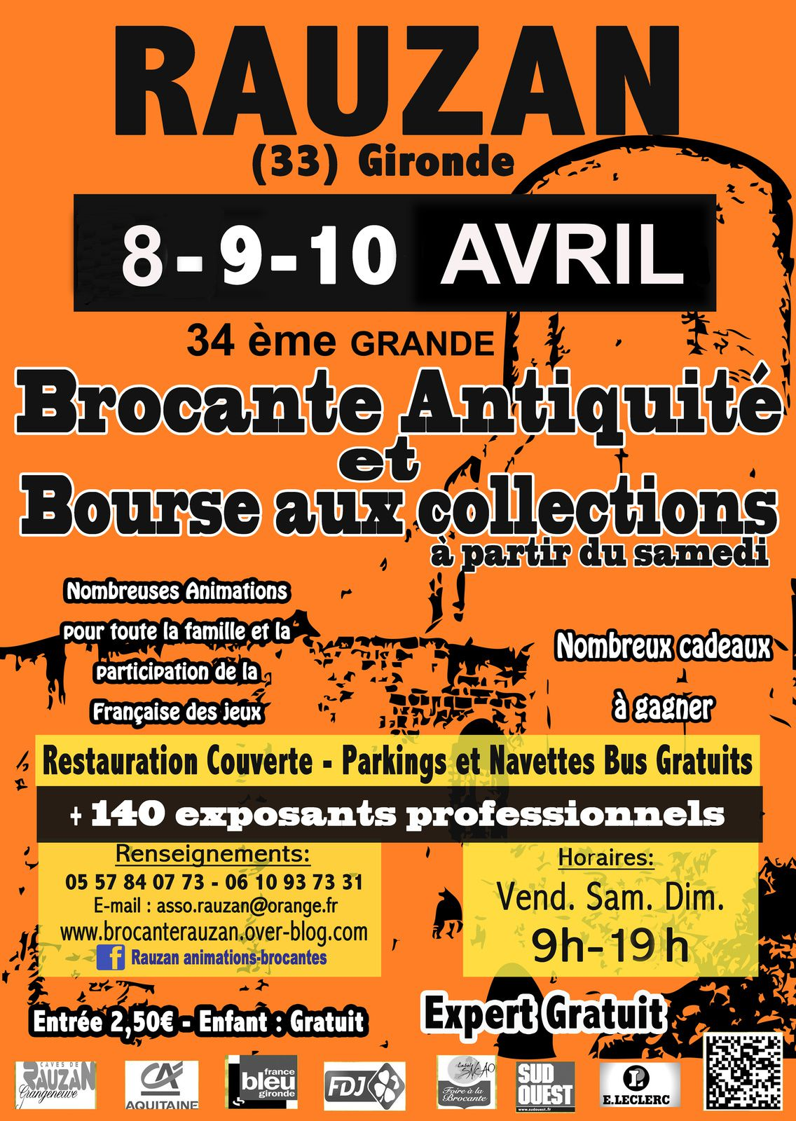 Ce week end grande brocante antiquites le blog de brocanterauzan - Brocante a paris ce week end ...
