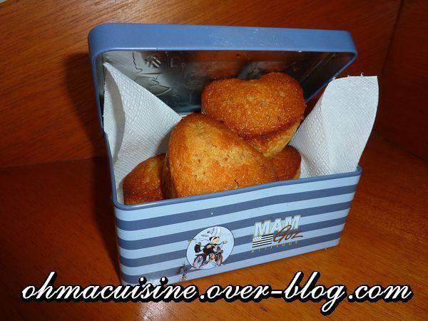 Muffins aux caramels beurre salé