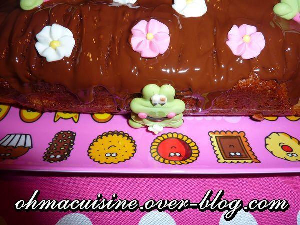 Cake surprise au chocolat