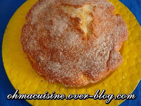 Gâteau extra moelleux à la fleur d'oranger