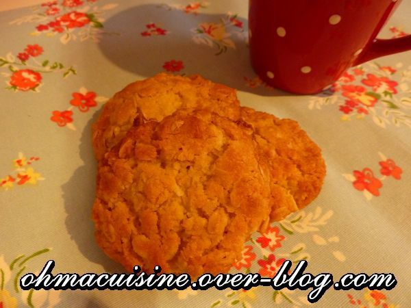 Biscuit ANZAC (avoine et noix de coco)