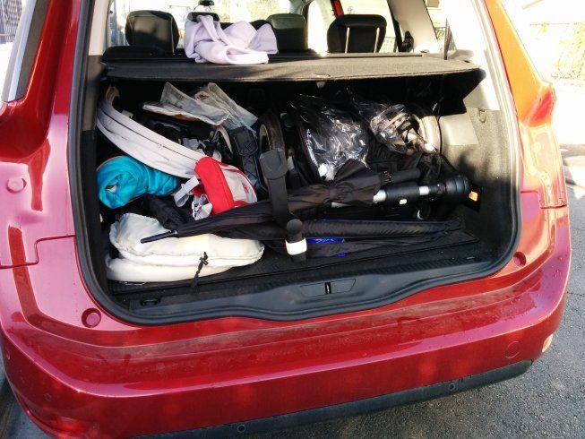 Ma voiture pour 3 enfants en bas âge