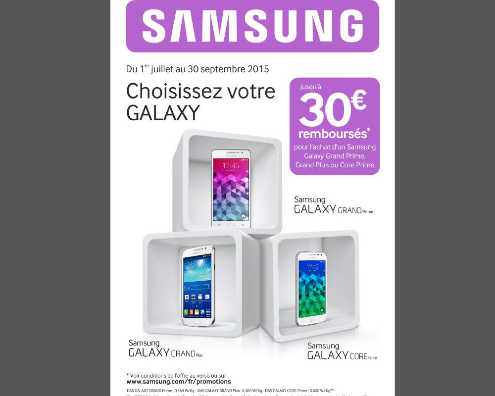 bon plan mobile offre de remboursement samsung le blog bon plan mobile bon plan smartphone. Black Bedroom Furniture Sets. Home Design Ideas