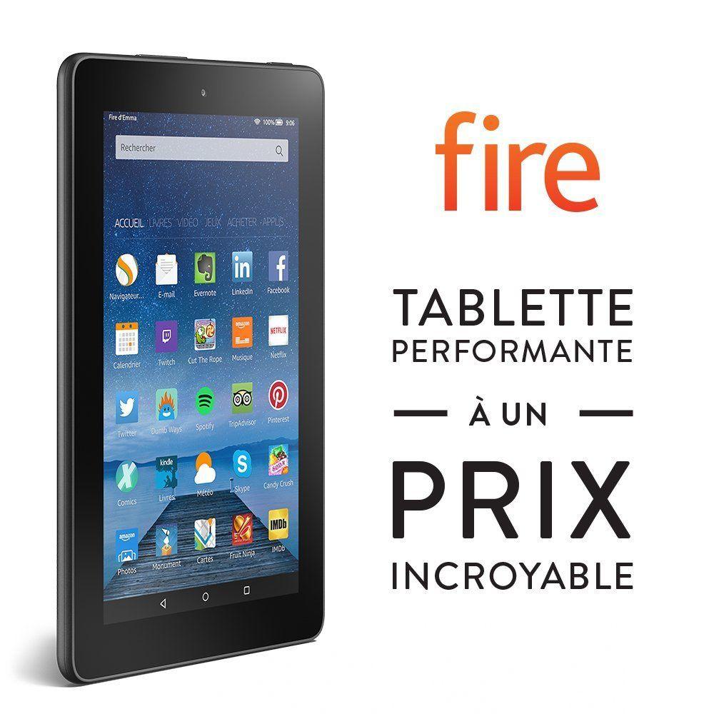 Tablette amazon fire 7 pouces petit prix le blog bon - Prix tablette samsung 10 pouces ...