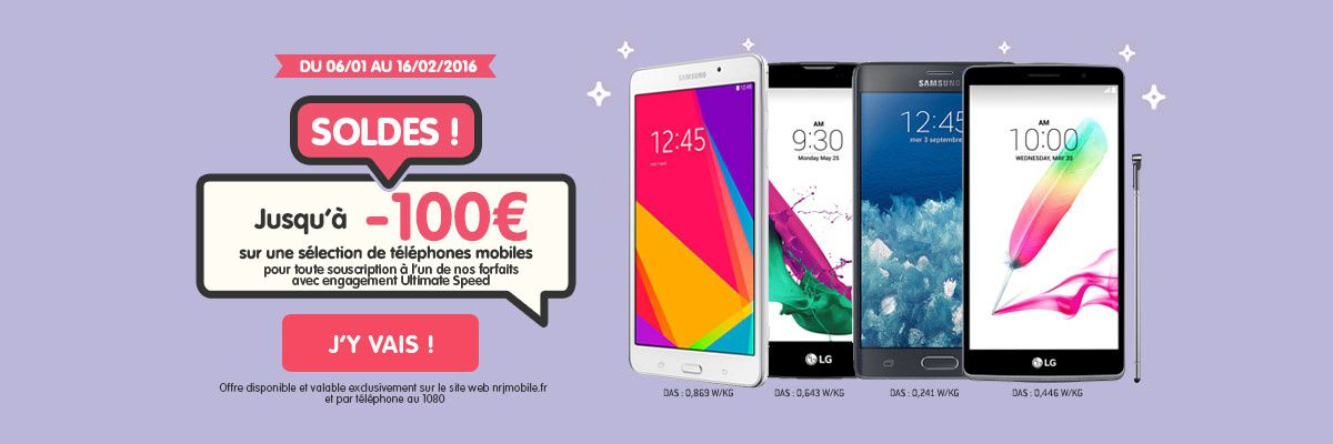 bon plan smartphones soldes chez nrjmobile le blog bon plan mobile bon plan smartphone et. Black Bedroom Furniture Sets. Home Design Ideas