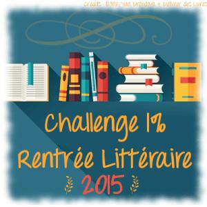 Challenge 1% rentrée littéraire