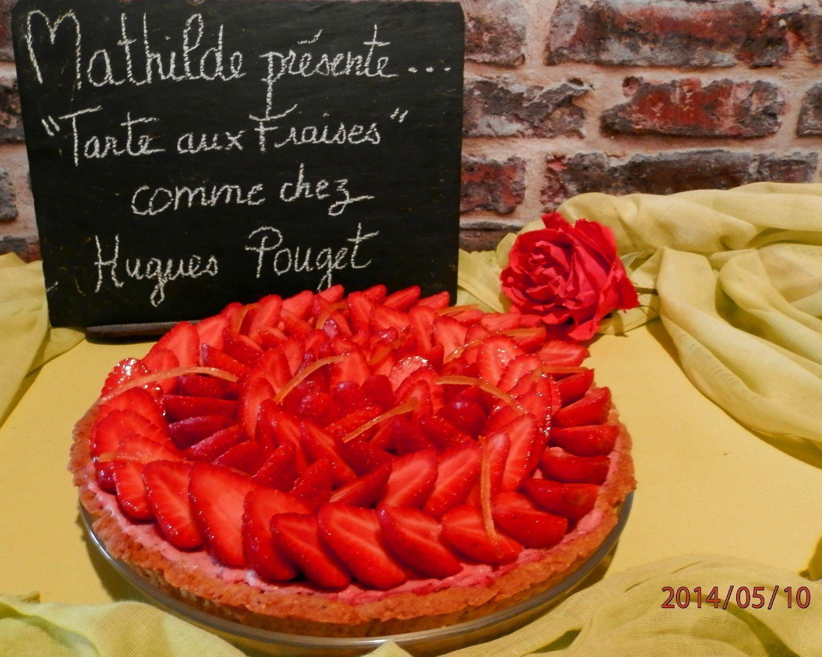 La tarte aux Fraises d'après Hugues Pouget (Hugo &amp&#x3B; Victor)