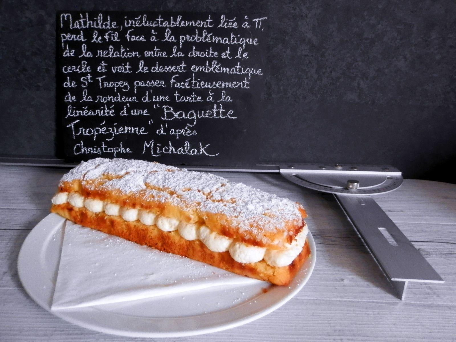 Baguette Tropézienne d'après Christophe Michalak