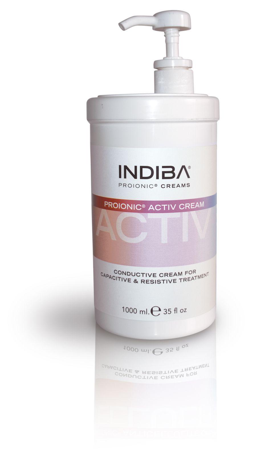 La crème Proionic INDIBA activ : NOUVEAU LOOK et encore PLUS PRATIQUE !