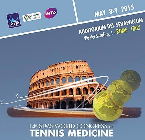INDIBA activ a participé au 14ème congrès mondial STMS (Society for Tennis Medicine and Science) à Rome