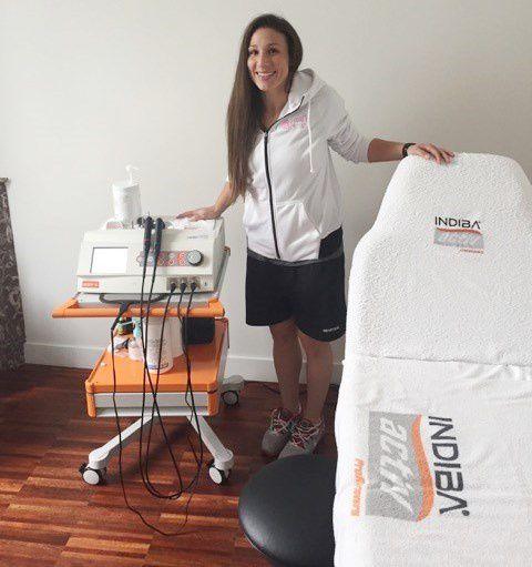 Nicole Davis, joueuse de volley-ball américaine du club le Cannet Volley-Ball, double vice-championne Olympique, Championne du monde 2014