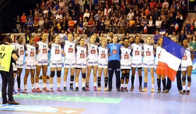 Jour de match pour l'Equipe de France féminine de Handball : FRANCE – Roumanie