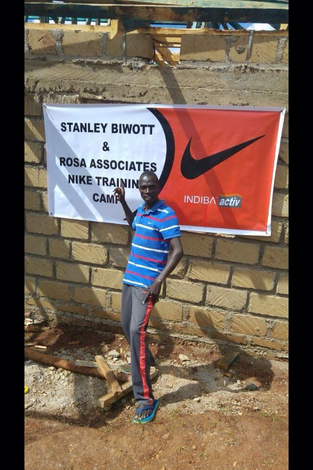 En direct du camp d'entrainement NIKE et ROSA ASSOCIATI au Kenya
