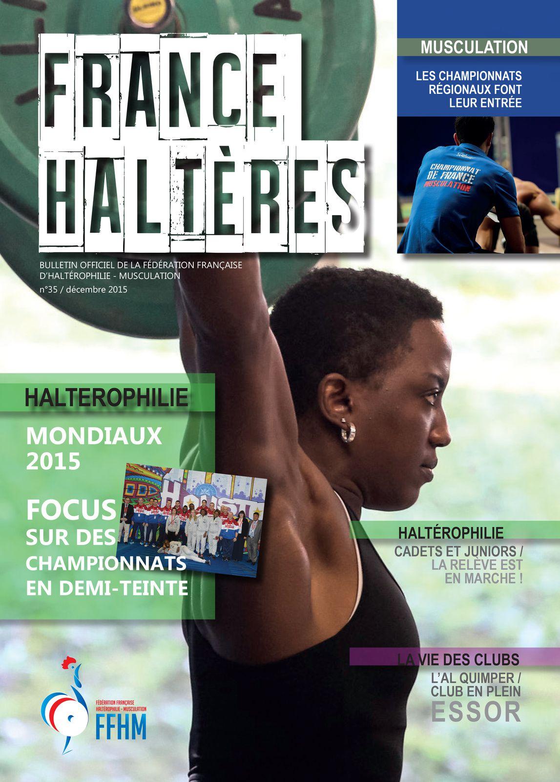 INDIBA activ joue les gros bras dans le magazine &quot&#x3B;France Haltères&quot&#x3B;