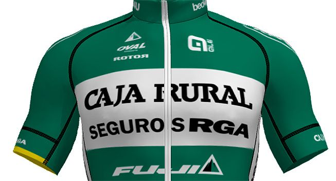Team cycliste Caja Rural-Seguros RGA en traitement INDIBA