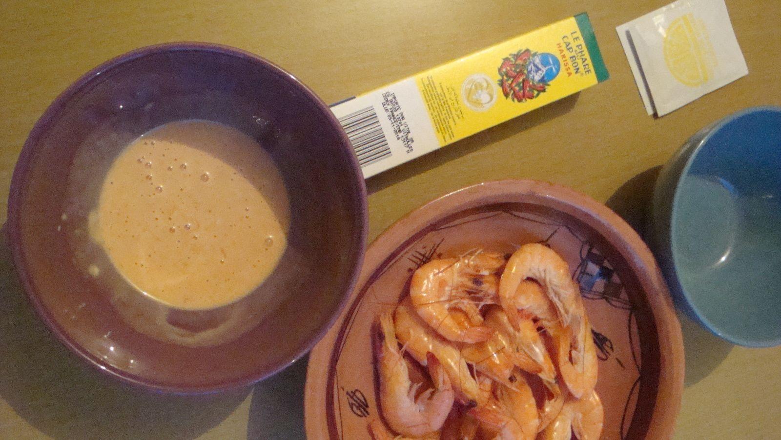 Sauce Marie-Rose pour crevettes