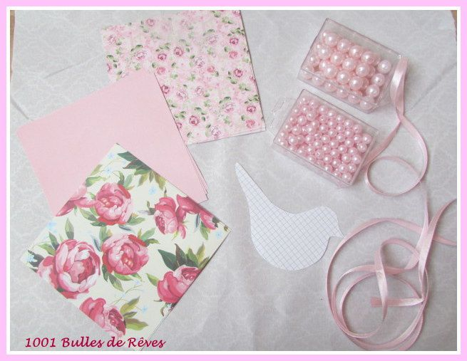 diy tuto une jolie guirlande d 39 oiseaux shabby chic romantique rose 1001 bulles de r ves. Black Bedroom Furniture Sets. Home Design Ideas