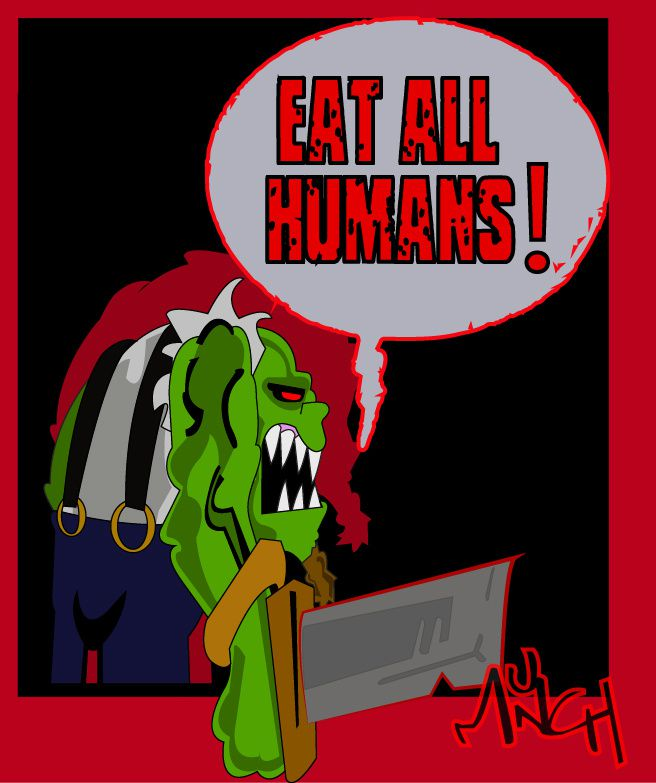 Eat All Humans