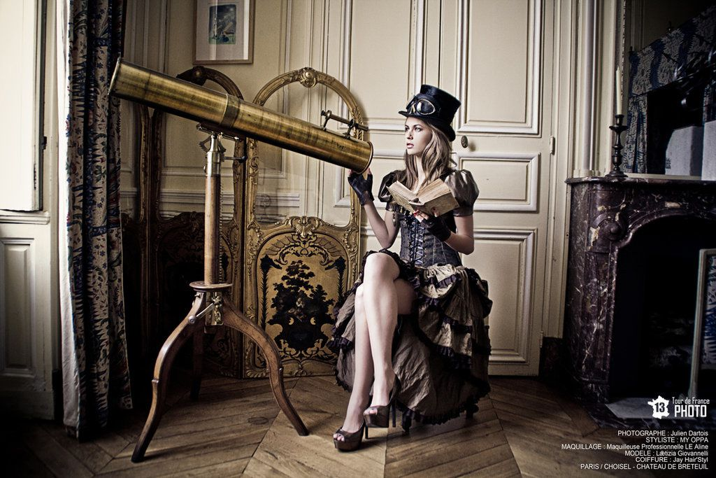 Le steampunk shadows and light - Steampunk style vestimentaire ...