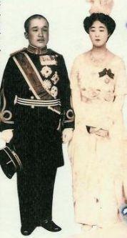 Le prince Euimin et la princesse Masako 李 垠王子と方子王女