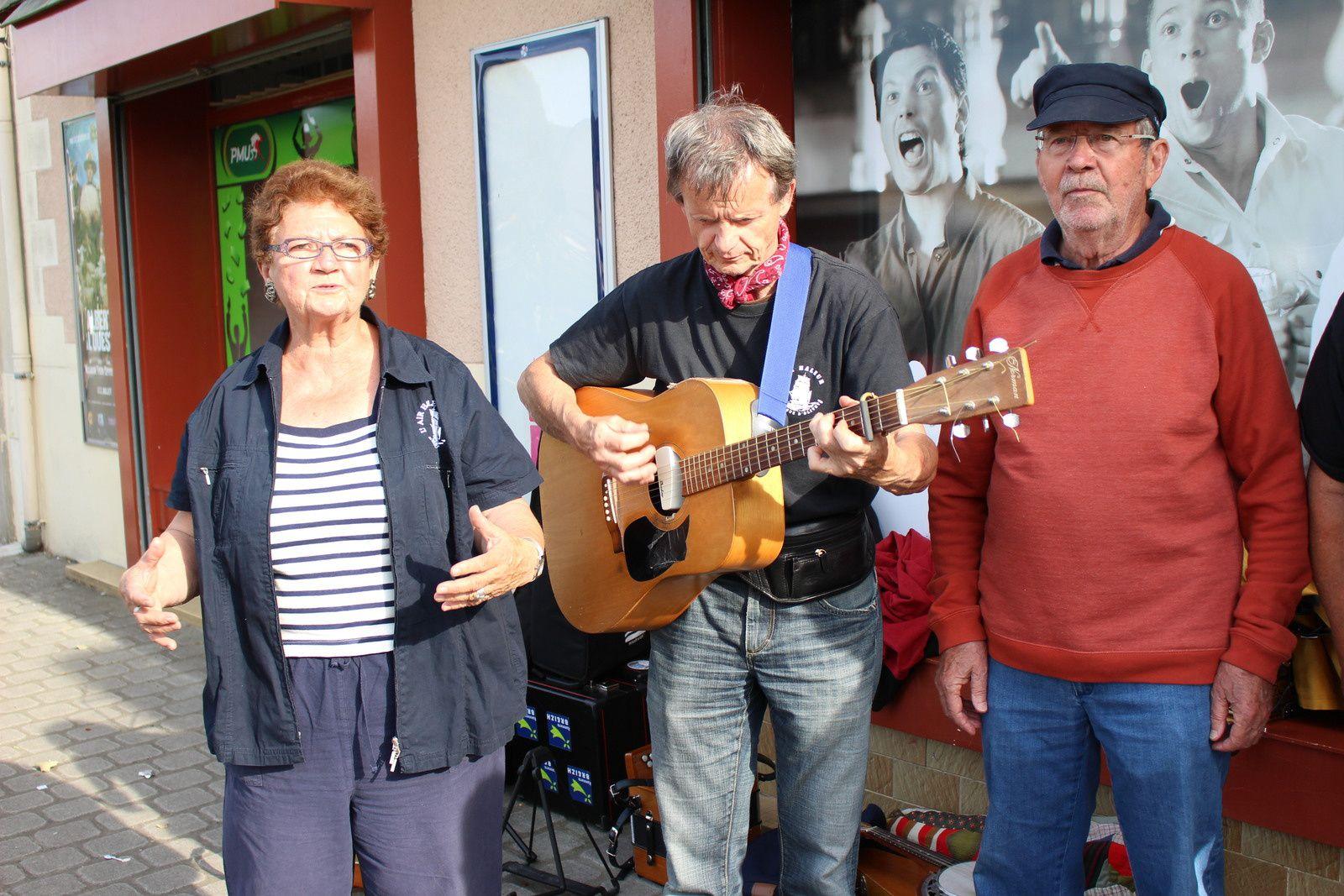 Juin 2014 : Fête de la musique à MONTGERMONT (35)