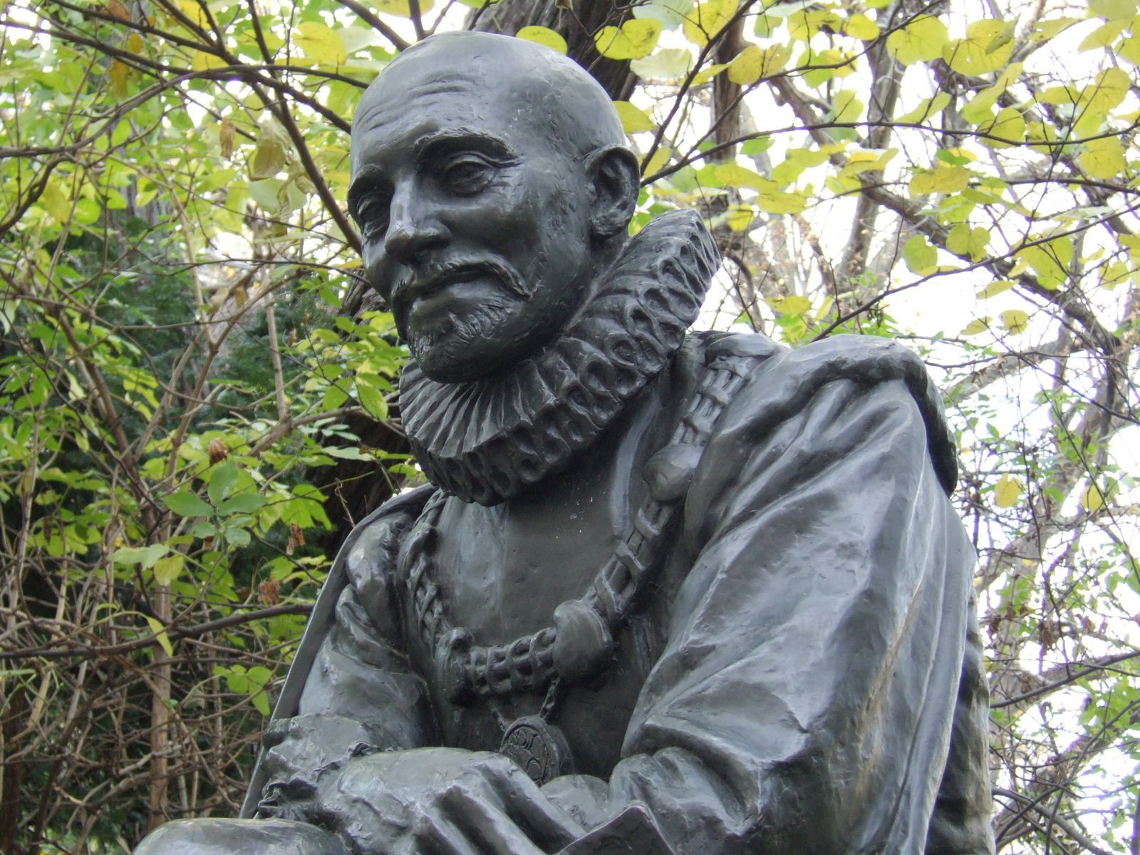 How does Montaigne view human nature?