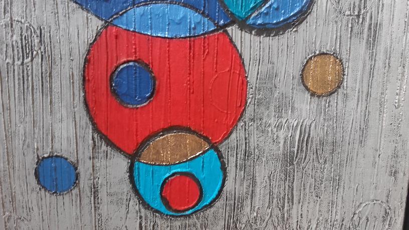diptyque ronds rouges et bleus-mai 2018