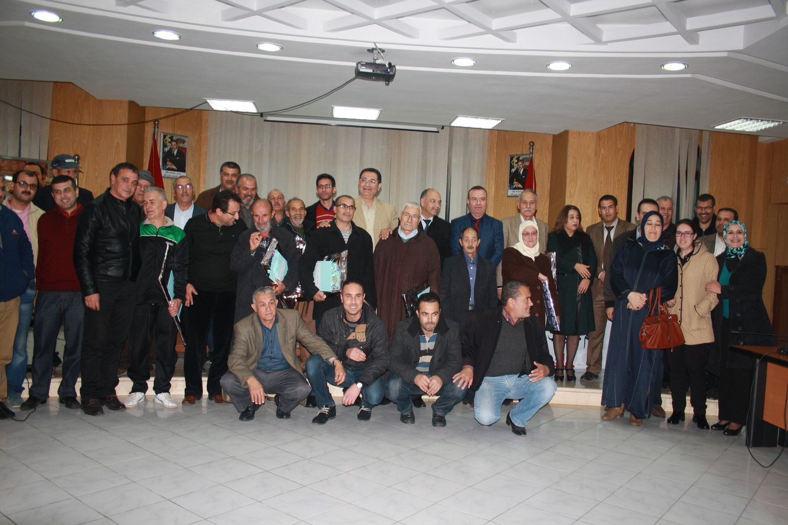 الاحتفاء بالمتقاعدين ببلدية الحسيمة 2015